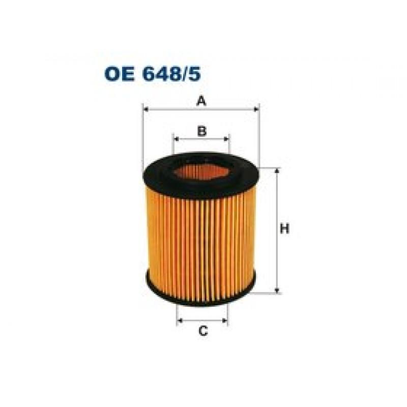 Olejový filter Filtron OE648/5