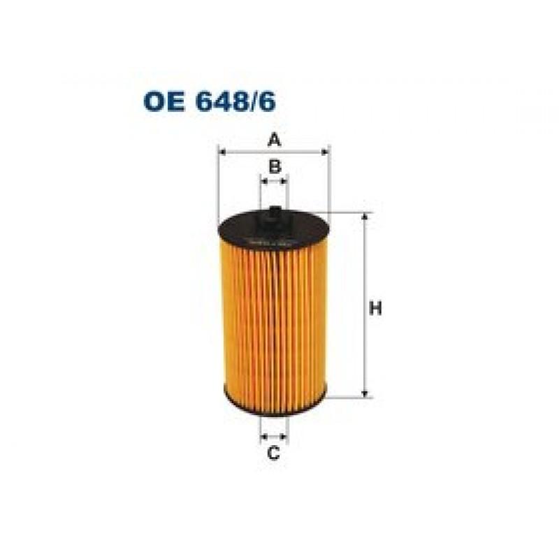 Olejový filter Filtron OE648/6