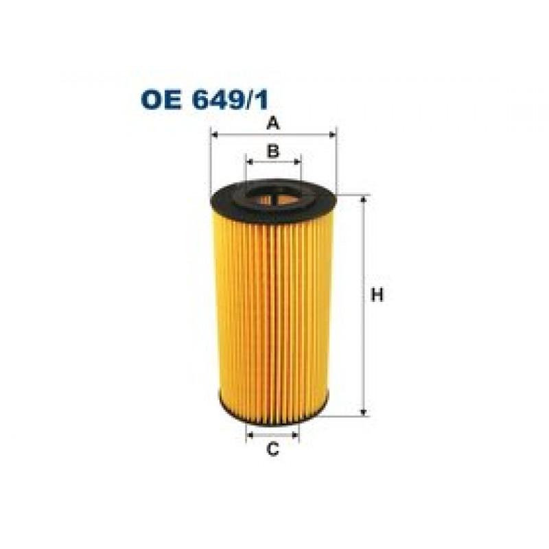 Olejový filter Filtron OE649/1