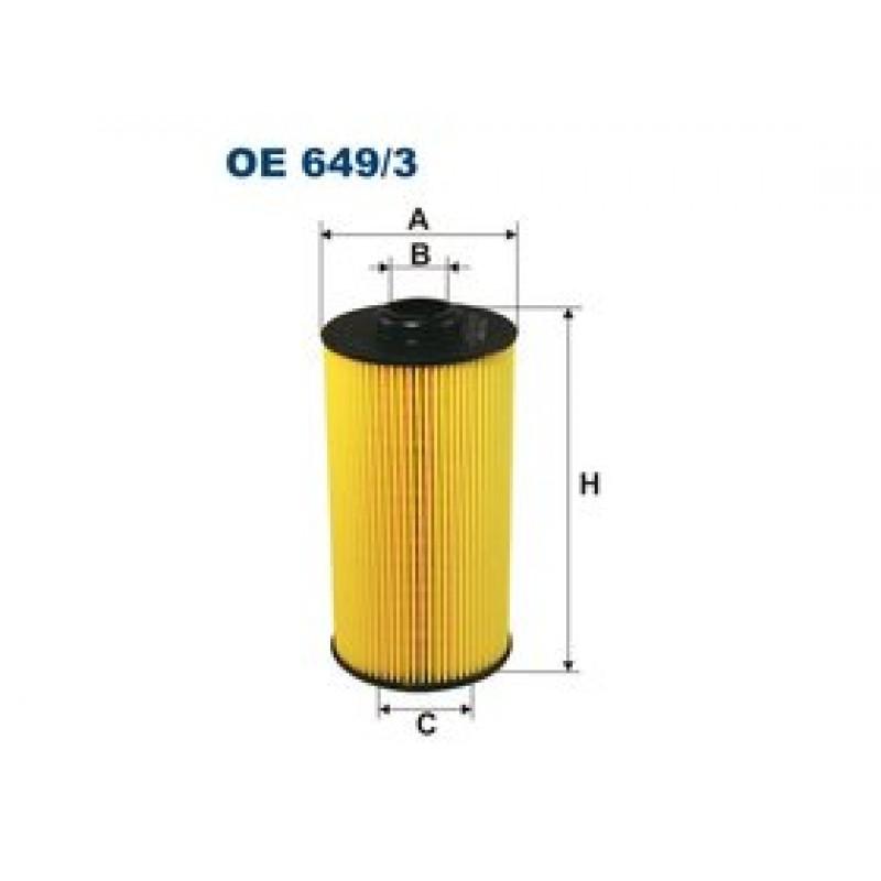 Olejový filter Filtron OE649/3