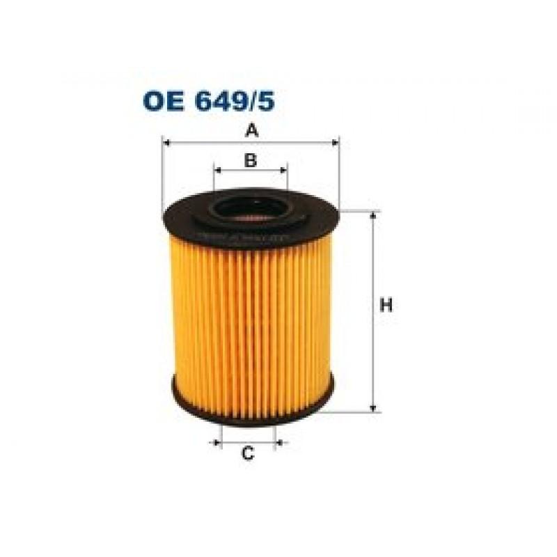 Olejový filter Filtron OE649/5