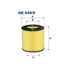 Olejový filter Filtron OE649/9
