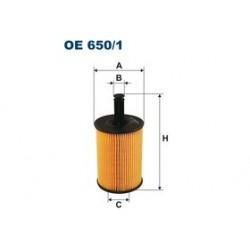 Olejový filter Filtron OE650/1