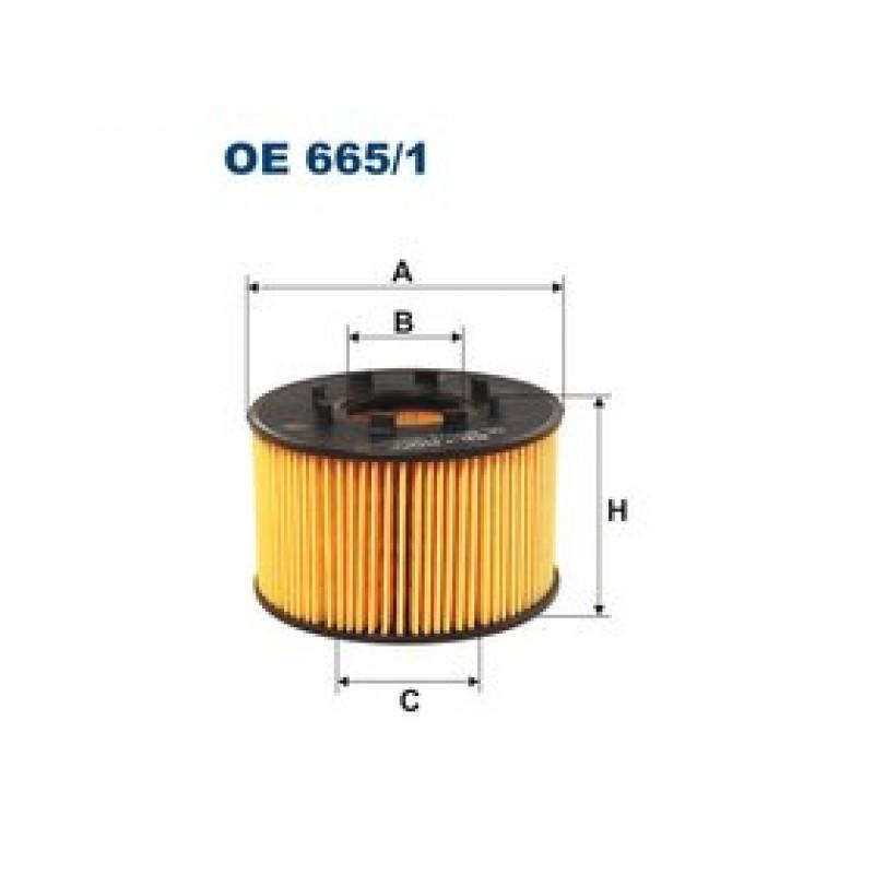 Olejový filter Filtron OE665/1