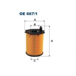 Olejový filter Filtron OE667/1