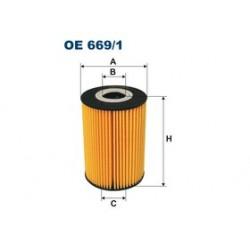 Olejový filter Filtron OE669/1