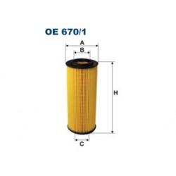 Olejový filter Filtron OE670/1