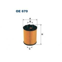 Olejový filter Filtron OE670