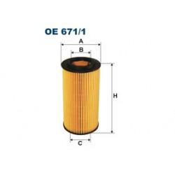 Olejový filter Filtron OE671/1