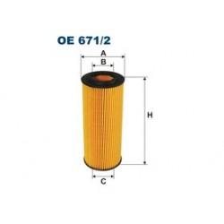 Olejový filter Filtron OE671/2