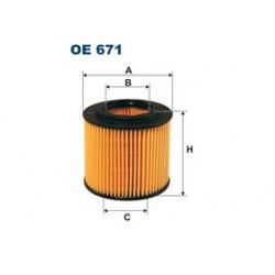 Olejový filter Filtron OE671