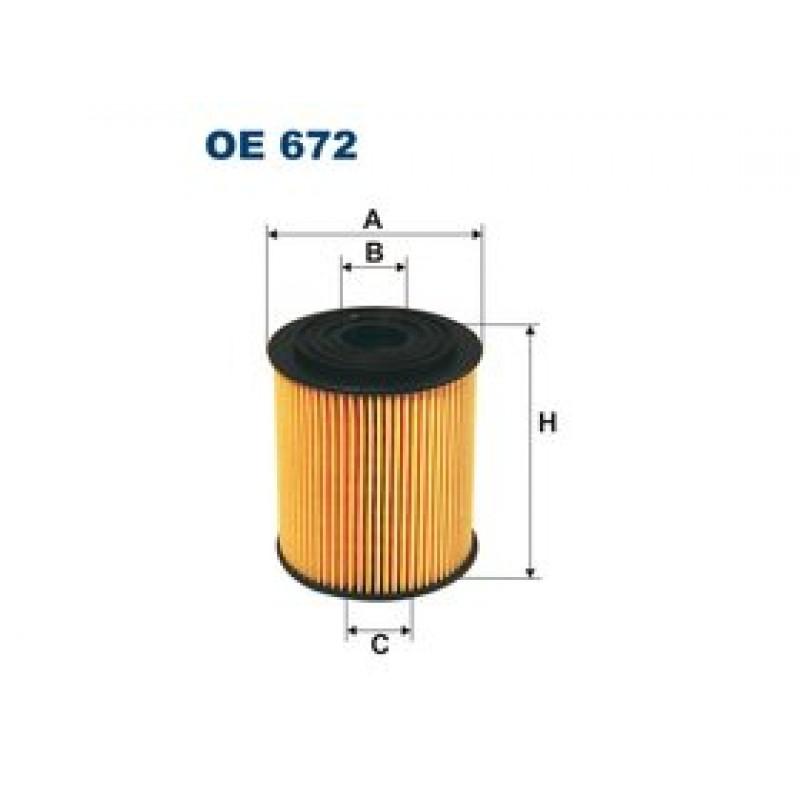 Olejový filter Filtron OE672