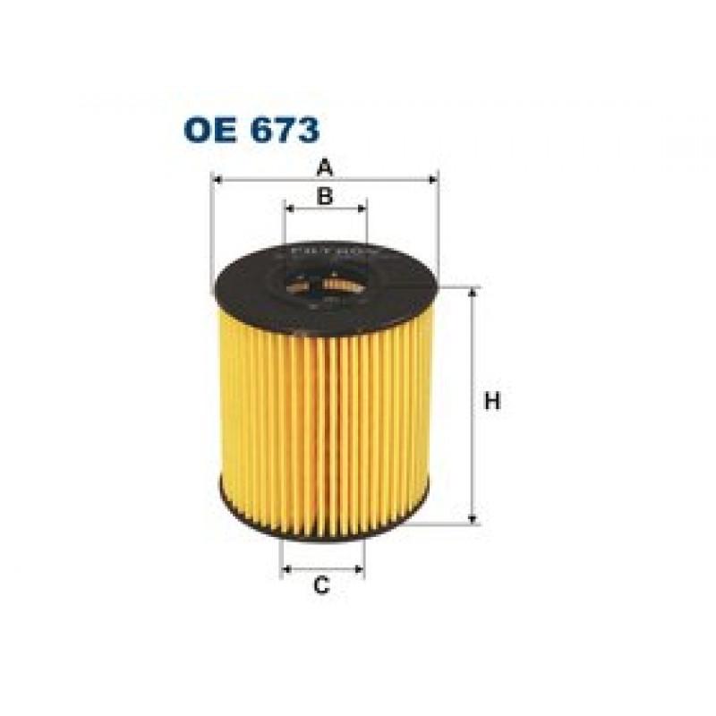 Olejový filter Filtron OE673