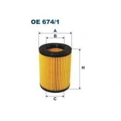 Olejový filter Filtron OE674/1