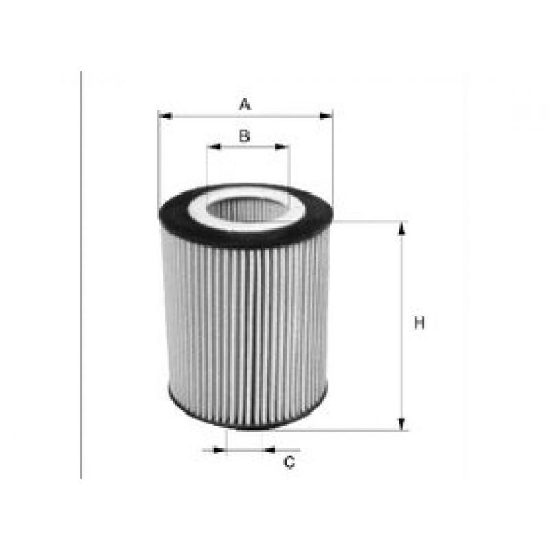 Olejový filter Filtron OE674/4