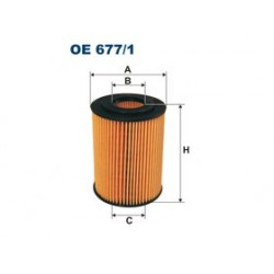 Olejový filter Filtron OE677/1