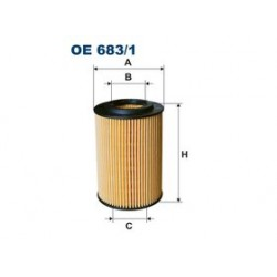 Olejový filter Filtron OE683/1