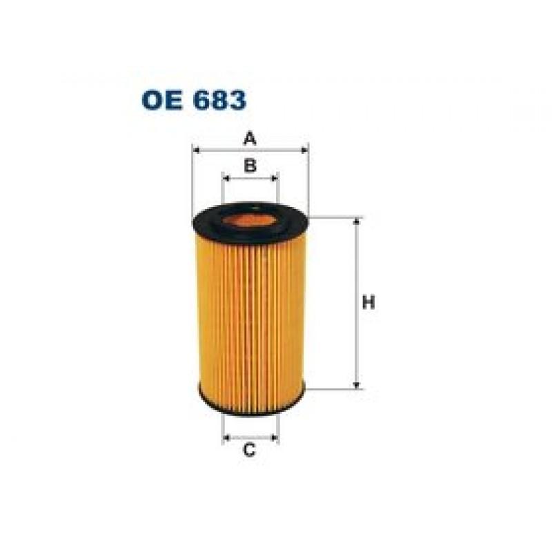 Olejový filter Filtron OE683