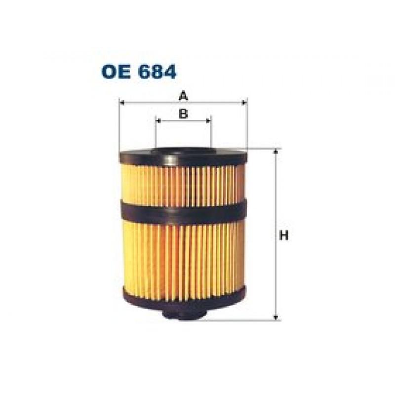 Olejový filter Filtron OE684