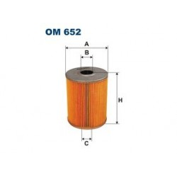 Olejový filter Filtron OM652