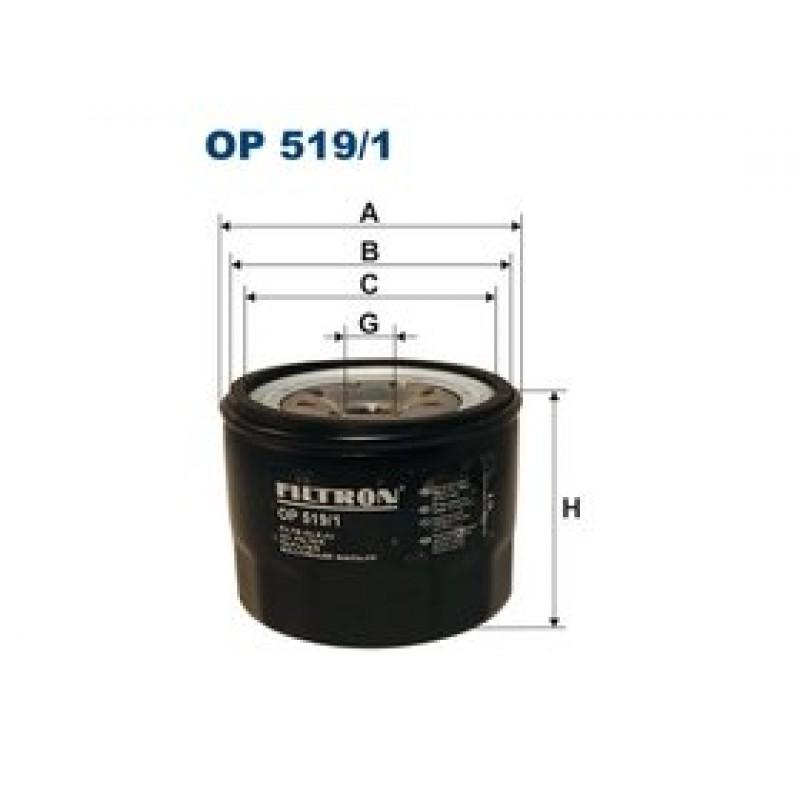 Olejový filter Filtron OP519/1