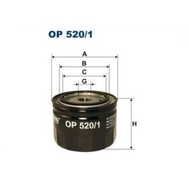 Olejový filter Filtron OP520/1