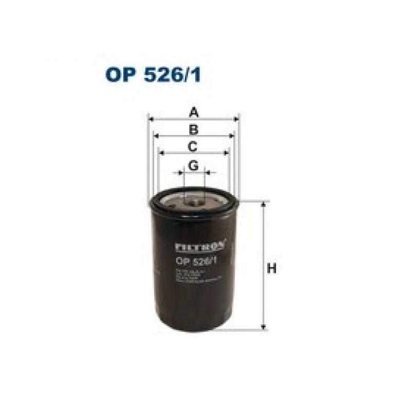 Olejový filter Filtron OP526/1