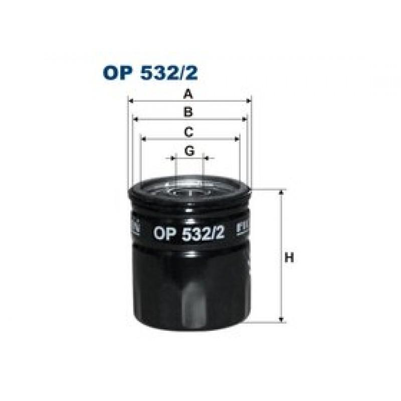 Olejový filter Filtron OP532/2
