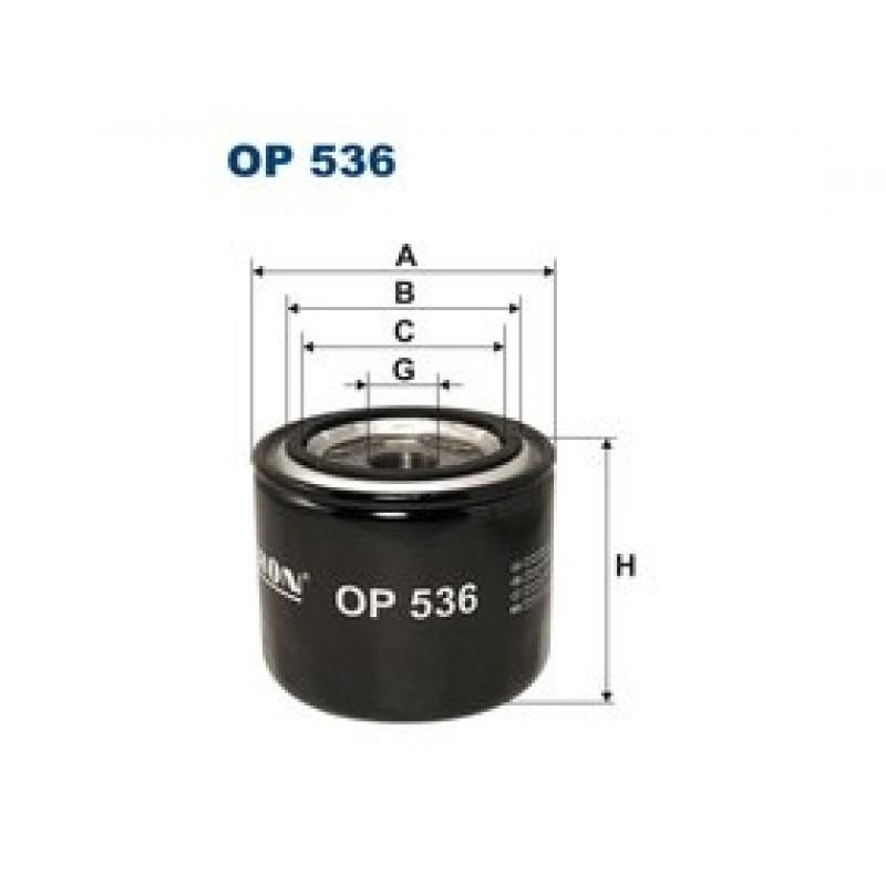Olejový filter Filtron OP536