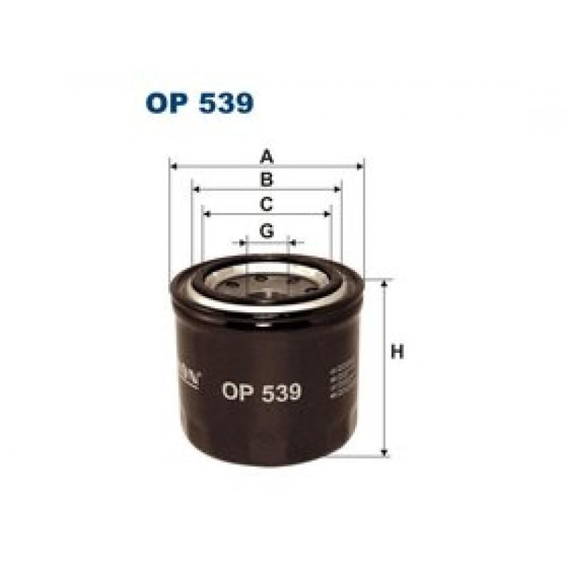 Olejový filter Filtron OP539