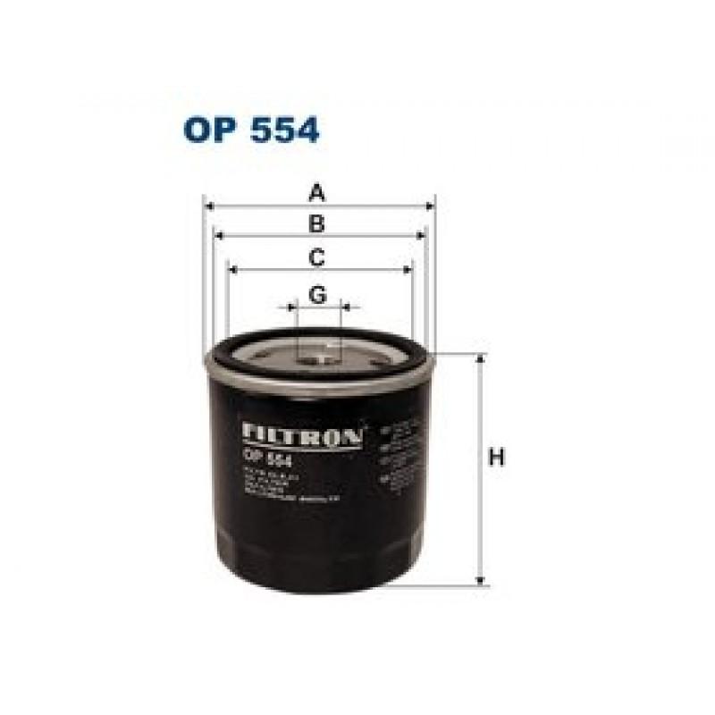 Olejový filter Filtron OP554