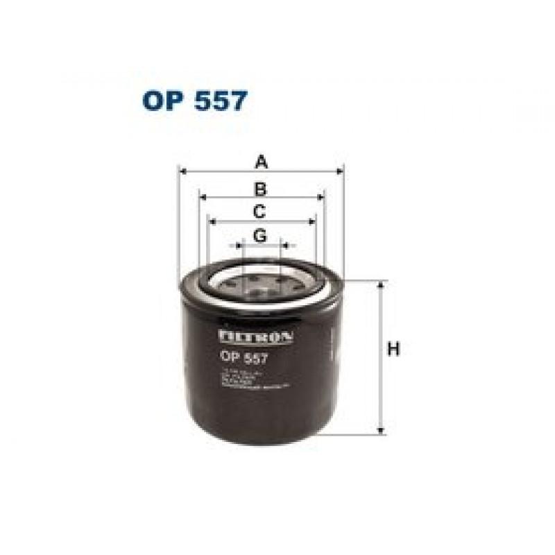 Olejový filter Filtron OP557