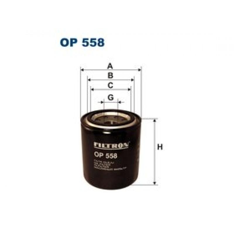 Olejový filter Filtron OP558