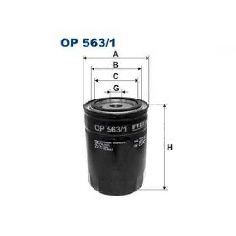 Olejový filter Filtron OP563/1