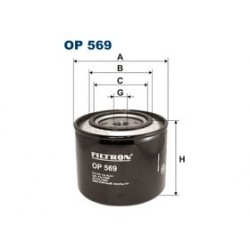 Olejový filter Filtron OP569