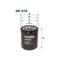 Olejový filter Filtron OP579