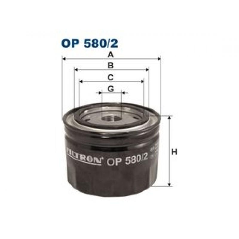 Olejový filter Filtron OP580/2