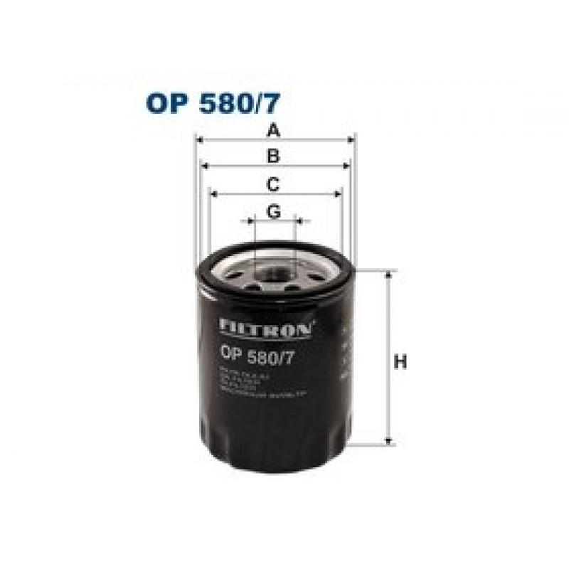 Olejový filter Filtron OP580/7