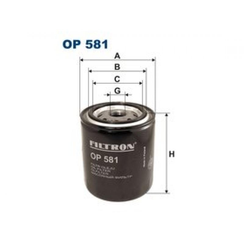 Olejový filter Filtron OP581