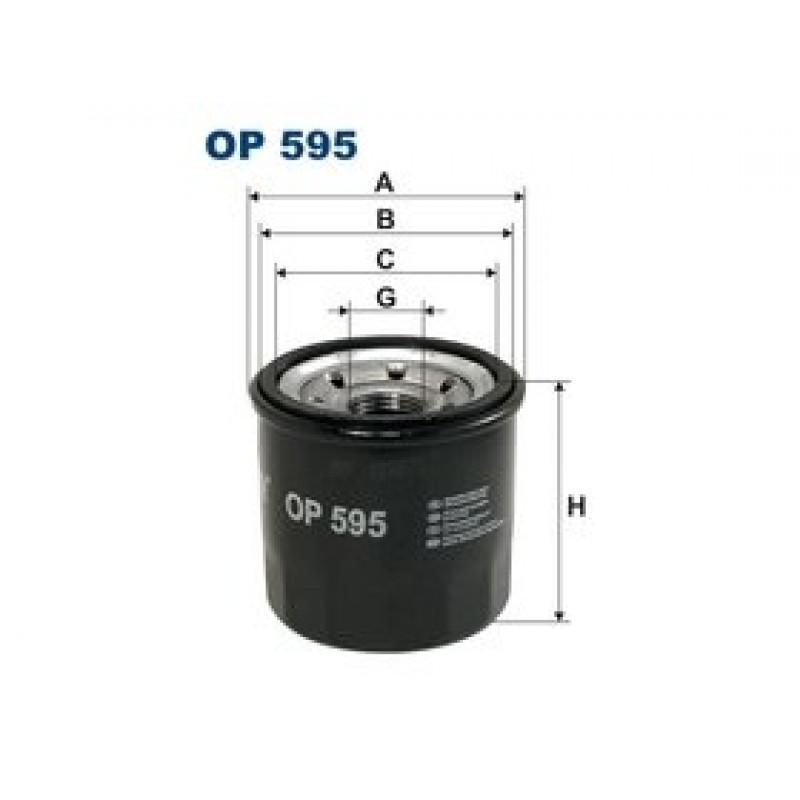 Olejový filter Filtron OP595