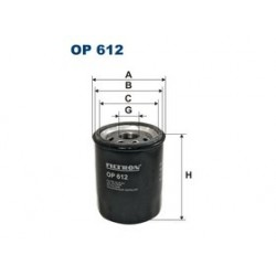 Olejový filter Filtron OP612
