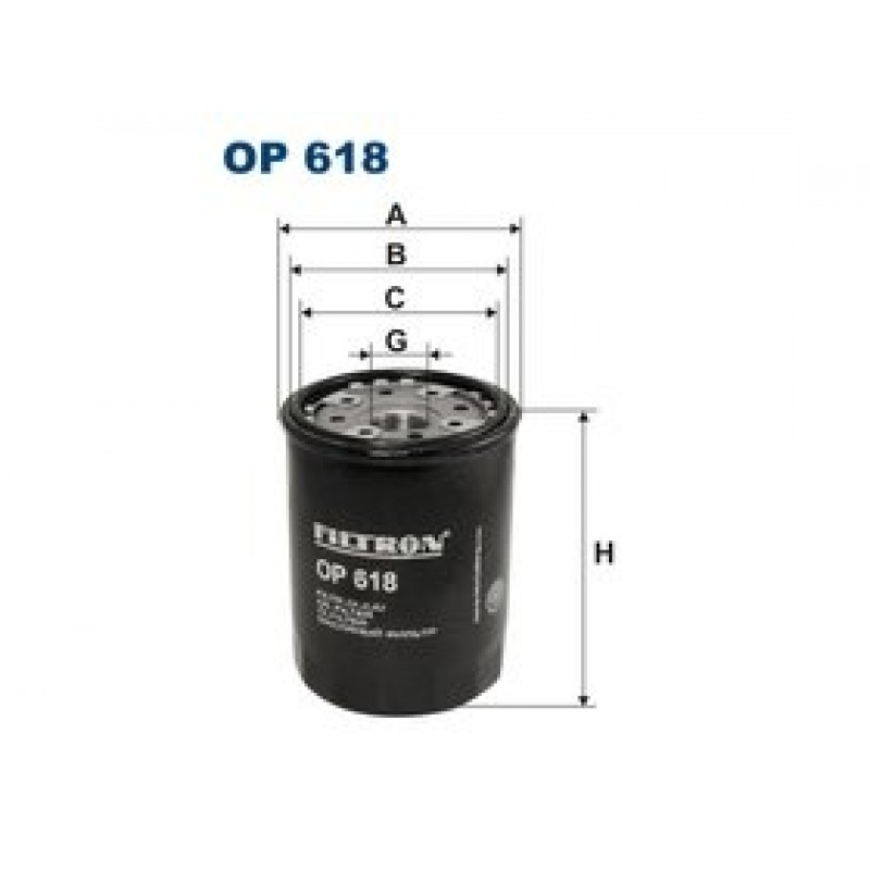 Olejový filter Filtron OP618