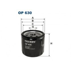 Olejový filter Filtron OP630