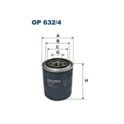 Olejový filter Filtron OP632/4