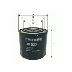 Olejový filter Filtron OP632/7
