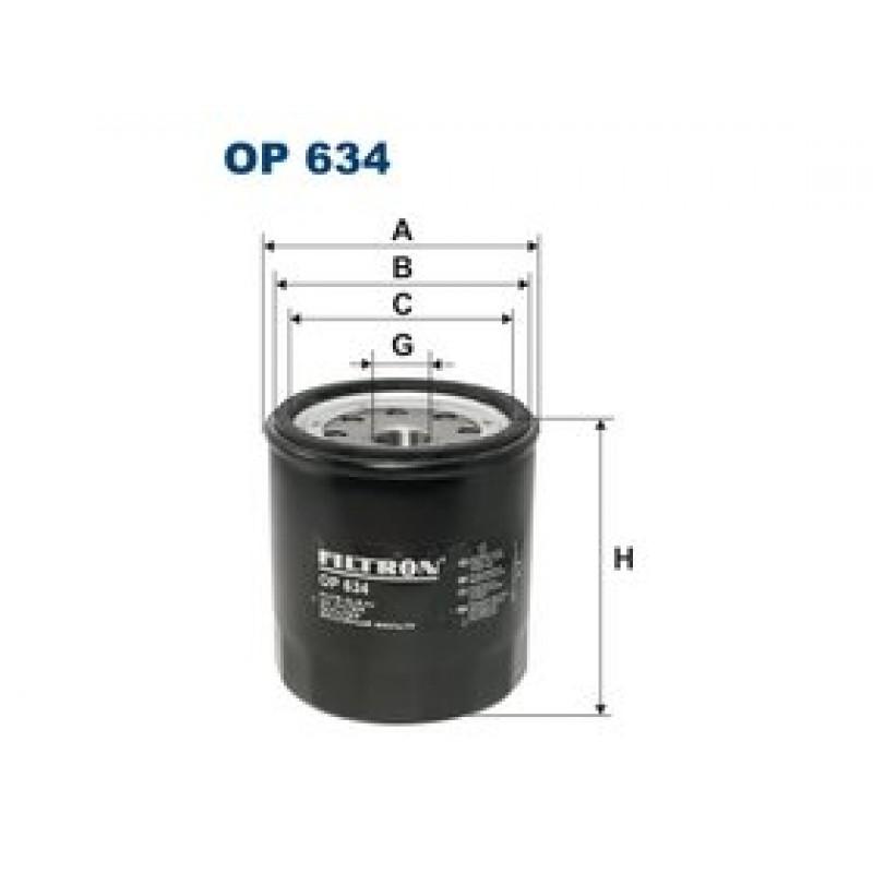 Olejový filter Filtron OP634
