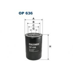 Olejový filter Filtron OP636