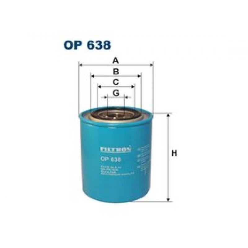 Olejový filter Filtron OP638