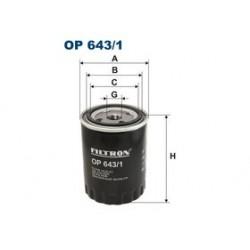Olejový filter Filtron OP643/1