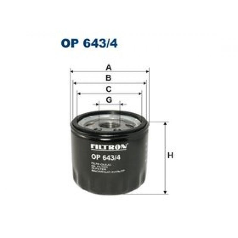 Olejový filter Filtron OP643/4